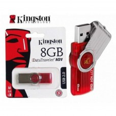 Флеш-память USB Kingston 8Gb Red(DT101G2/8GB)